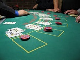 Inzetten Blackjack Tafel