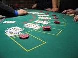 Inzetten Blackjack Tafel