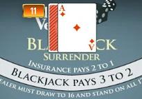 Blackjack Surrender AJ
