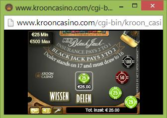 Kroon Mini Blackjack