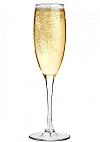 Blackjack bonusspel: glas Champagne
