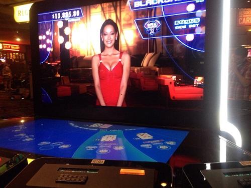 Blackjack automaat