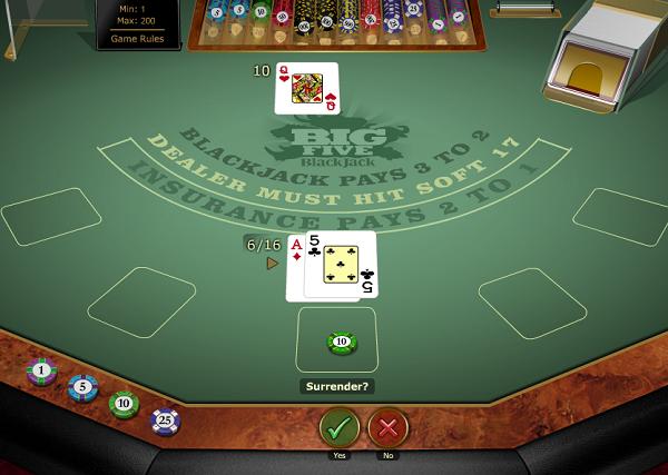 Big 5 Blackjack