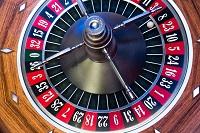 Tafelspellen met nummers (roulette)