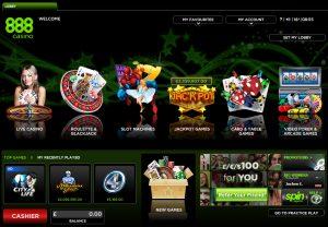 888 Casino met vergunning