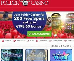 Online Casino Screenshot