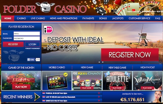 Polder Casino Lobby