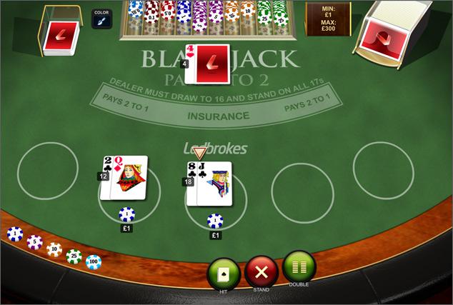 Blackjack Peek