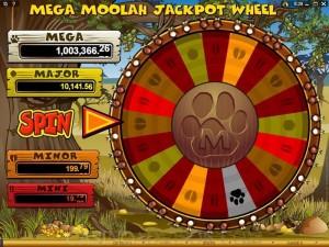 Mega Moolah miljonairs
