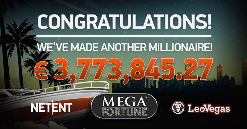 Mega Fortune € 3,7 miljoen