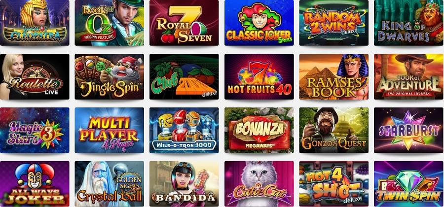 Casinospellen Omni Slots