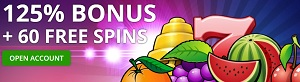 Fruits 4 Real Welkomstbonus