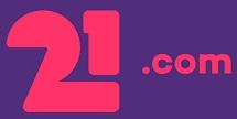 21 Com Logo