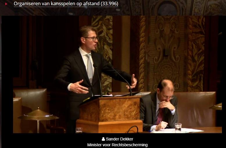 Livestream Sander Dekker