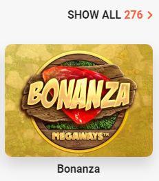 Bonanza Casino Spellen