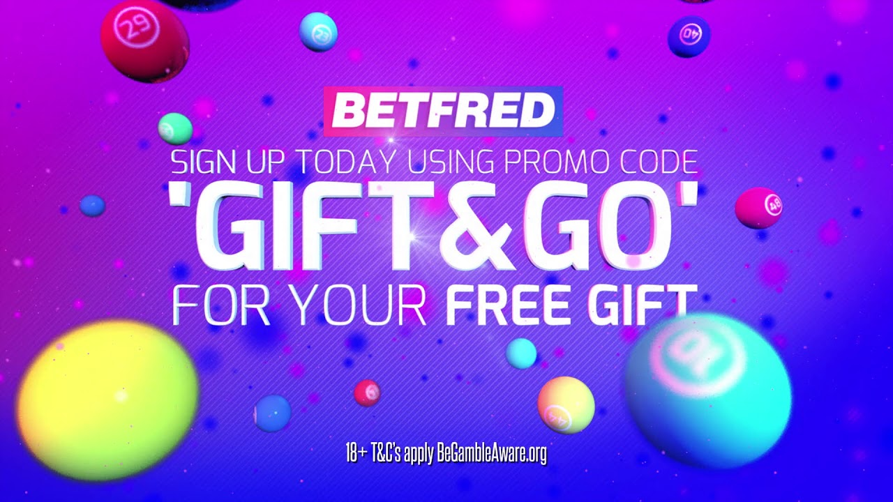 Betfred Bingo Commercial