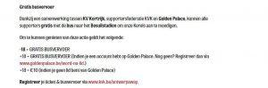 Kvk Kortrijk Golden Palace