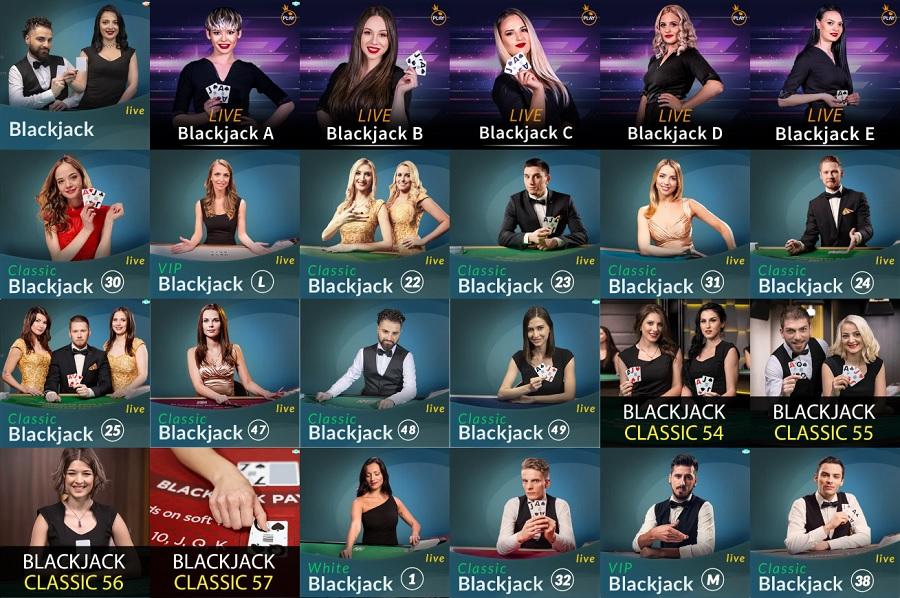 Spinia Casino Live Blackjack