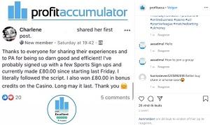 Profit Accumulator Instagram