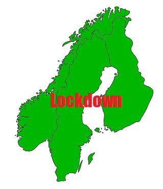Lockdown Scandinavië