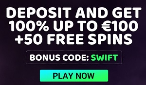 Welkomstbonus Swift Casino
