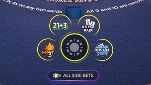Hot 3 Blackjack Side Bet