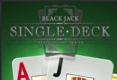 Netent Single Deck Blackjack