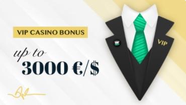 VIP Casino Bonus Wallacebet