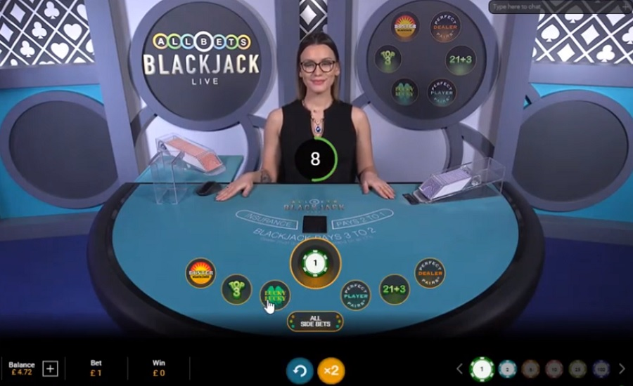 All Bets Blackjack Playtech