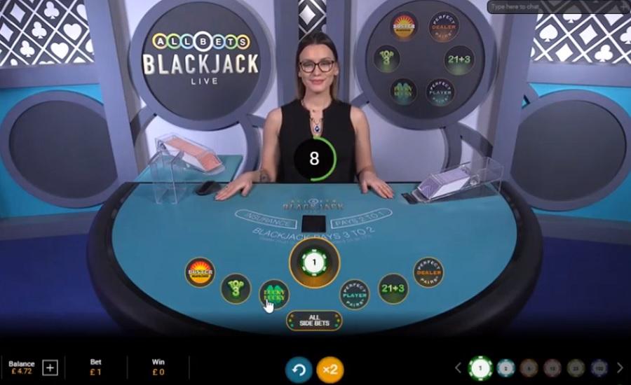 All Bets Blackjack Playtech