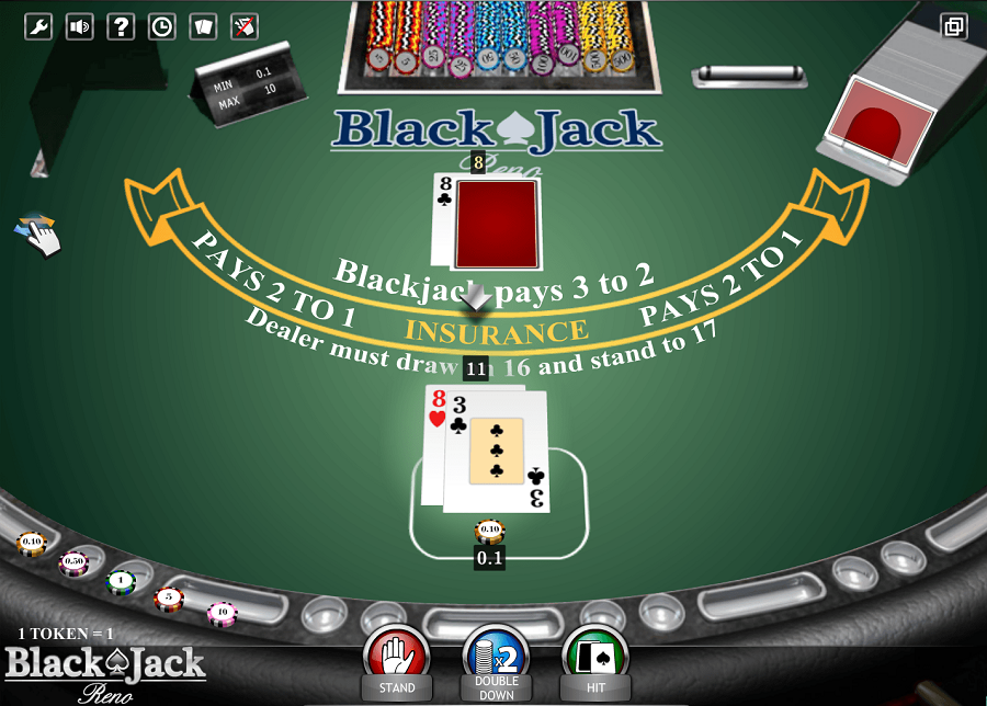 Blackjack Reno ISoftbet