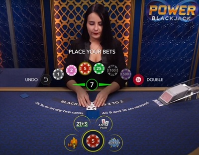 Bust It Blackjack Voorbeeld