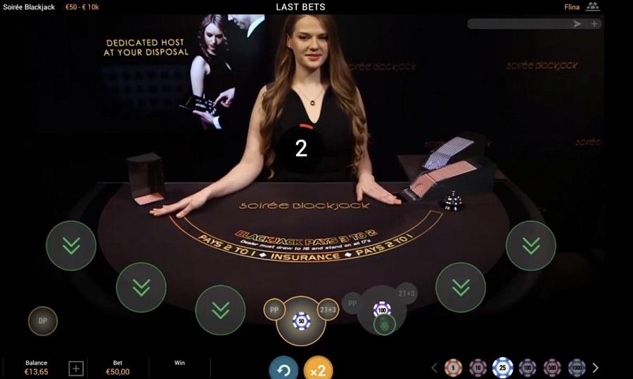 Soirée Blackjack Playtech