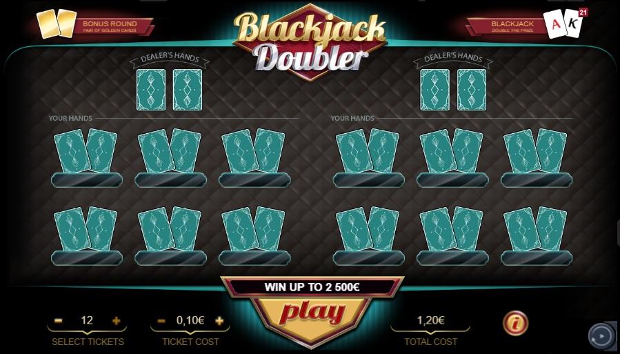 Blackjack Doubler Printscreen