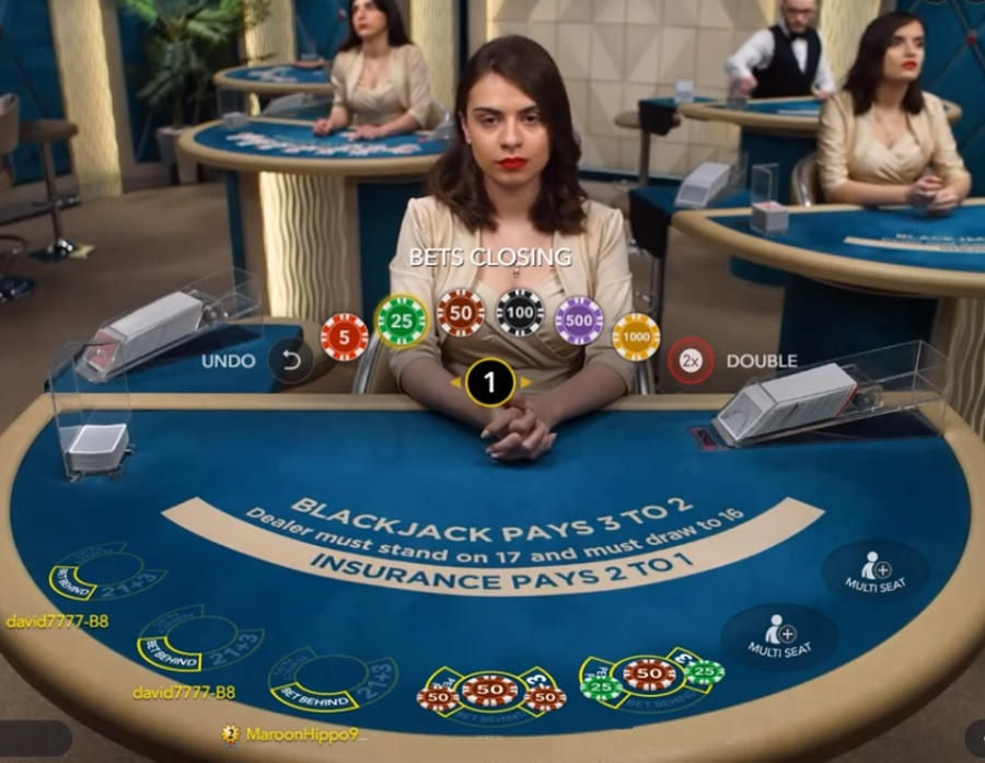 Blackjack Silver Sidebets