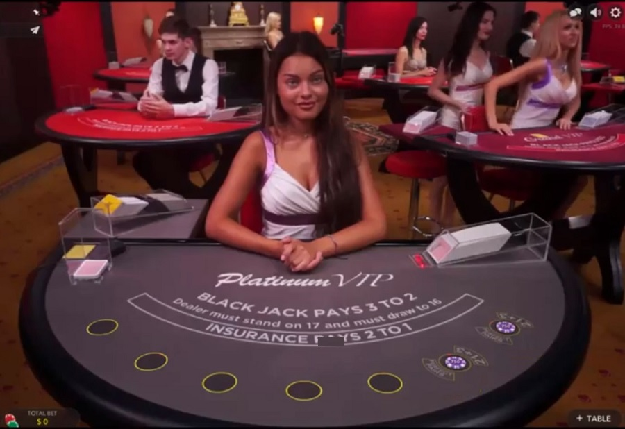 Platinum VIP Blackjack Printscreen