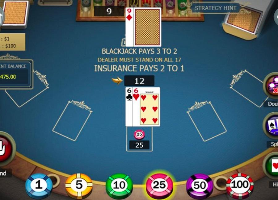 Royale Blackjack Printscreen
