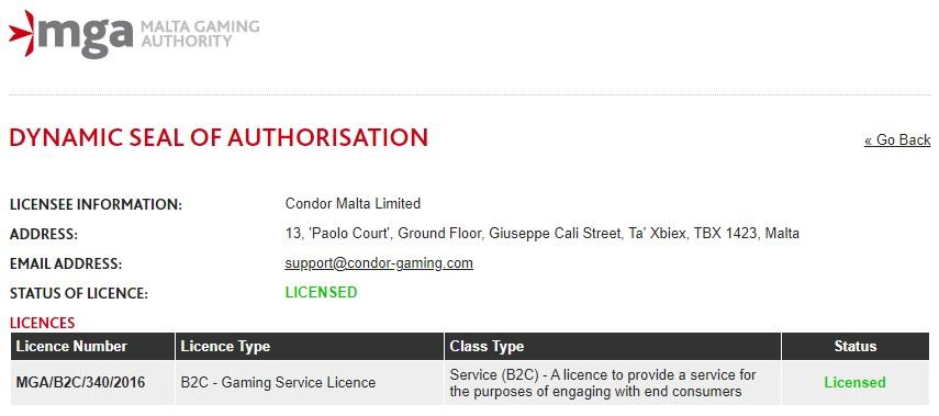 Condor Malta Limited