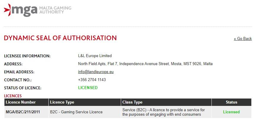 L&L Europe Limited