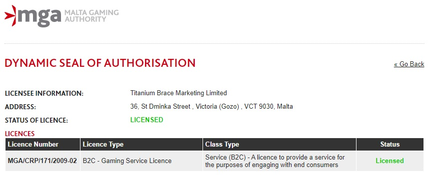 Titanium Brace Marketing Limited