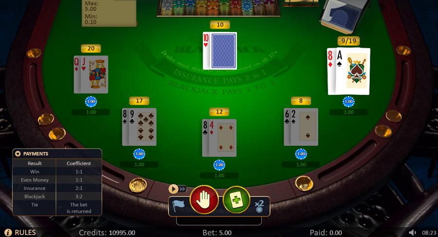 Blackjack Low Printscreen