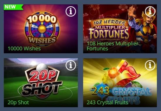 Casinospellen Highbet