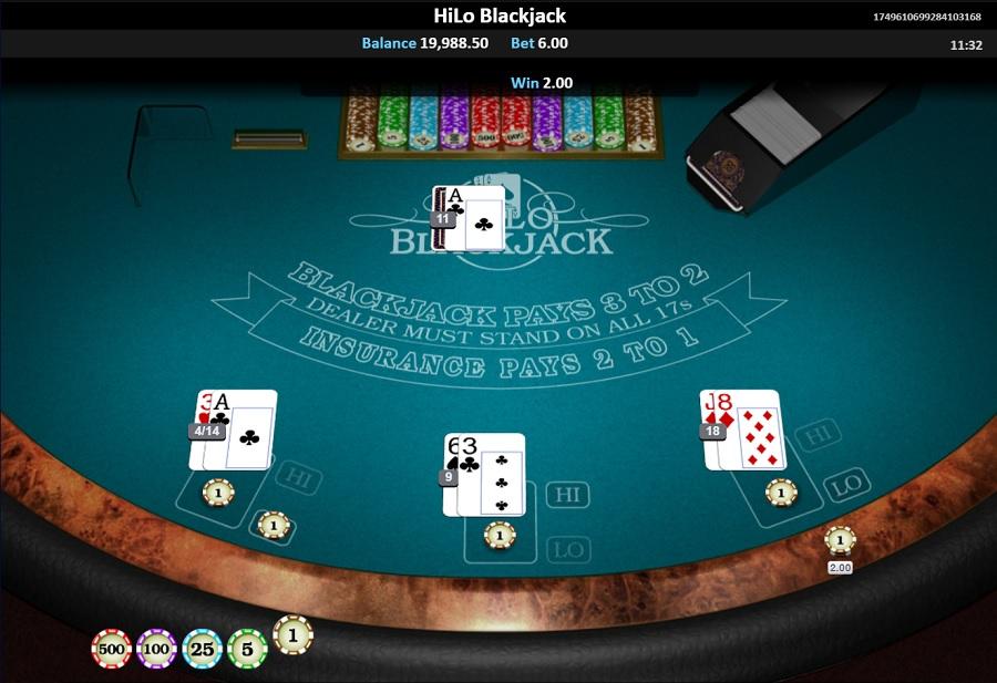 Hi Lo Blackjack Printscreen