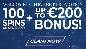 Highbet Casino Welkomstbonus