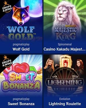 Kakadu Casino Spellen