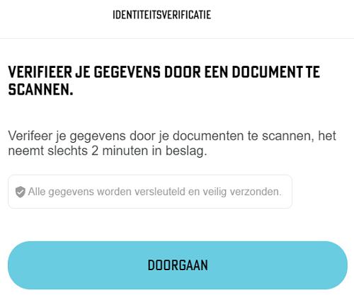 BetCity Identiteit Verificatie