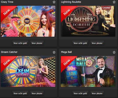 Bingoal Casino Spellen