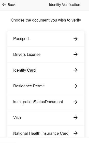 GGpoker Identiteit Verificatie