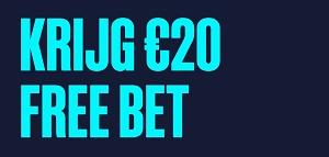 Krijg 20 Free Bet